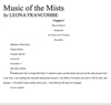 MUSIC OF THE MISTS book cover